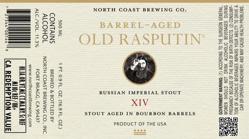 North Coast Old Rasputin XIV
