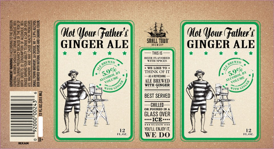Not Your Fathers Ginger Ale