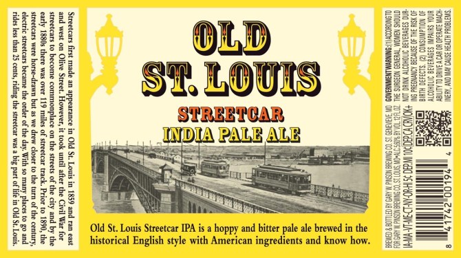 Old St Louis Streetcar India Pale Ale