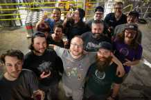 Orpheus Brewing Production Crew