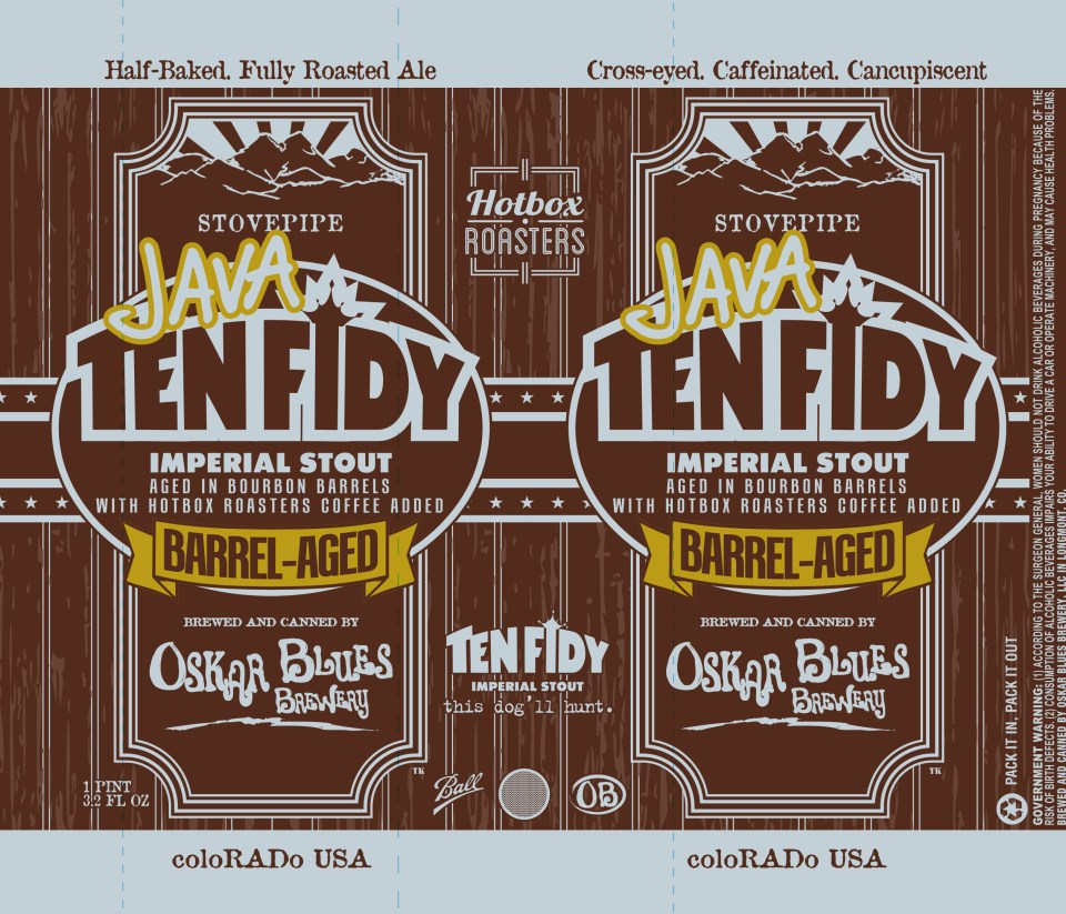 Oskar Blues Java Ten Fidy