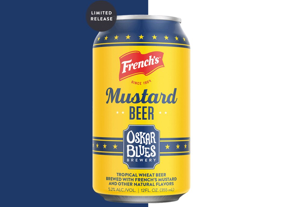 Oskar Blues Mustard Beer