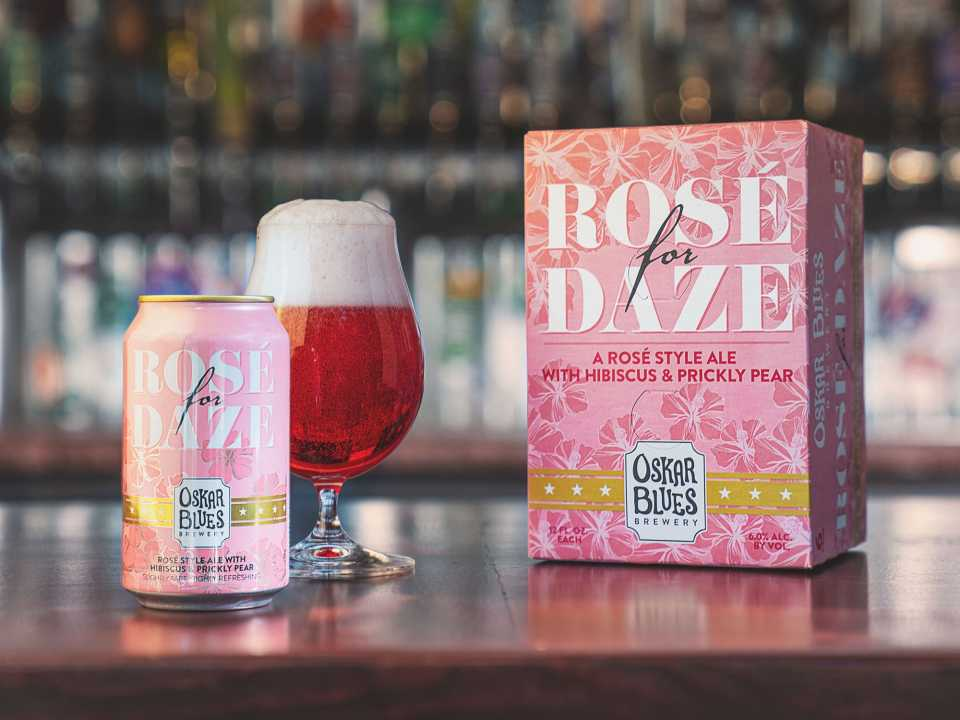 Oskar Blues Rose for Daze