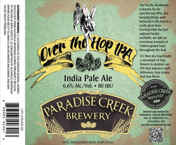 Paradise Creek Over The Top IPA