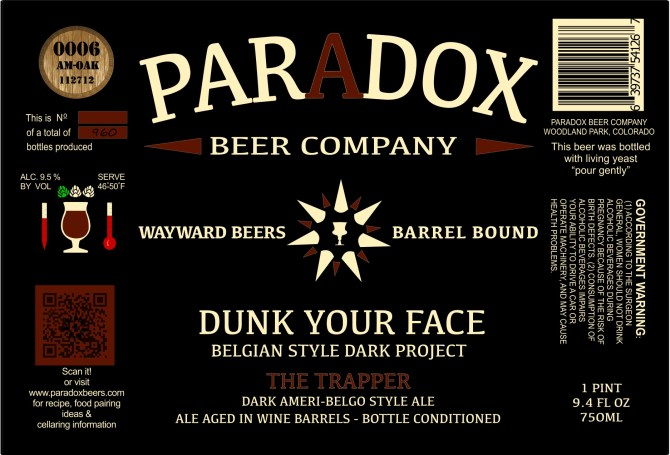 Paradox Dunk Your Face The Trapper