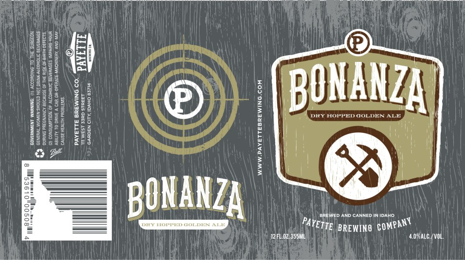 Payette Brewing Bonanza Dry Hopped Golden Ale