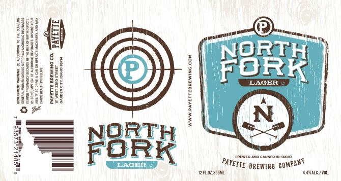 Payette Brewing North Fork Lager