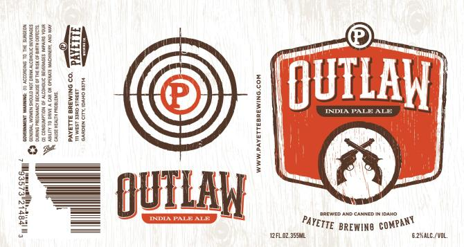 Payette Brewing Outlaw India Pale Ale