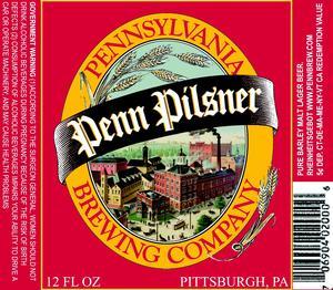 Penn Brewery Pilsner