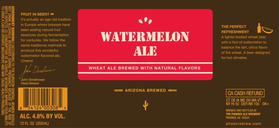 Phoenix Watermelon Ale