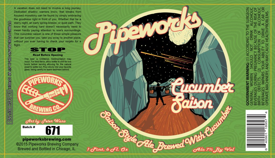 Pipeworks Cucumber Saison
