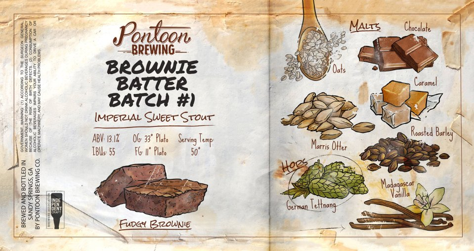 Pontoon Brewing Brownie Batter