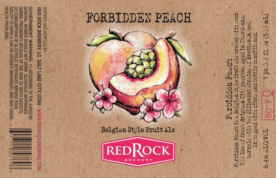 Red Rock Forbidden Peach