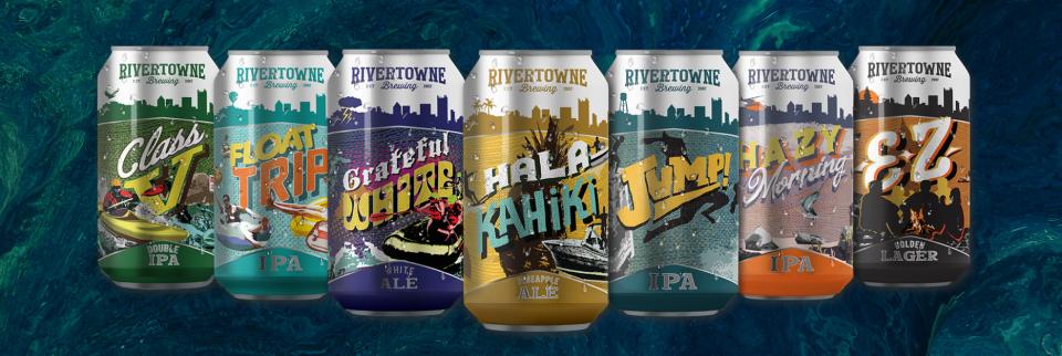 Rivertowne Brewing Lineup