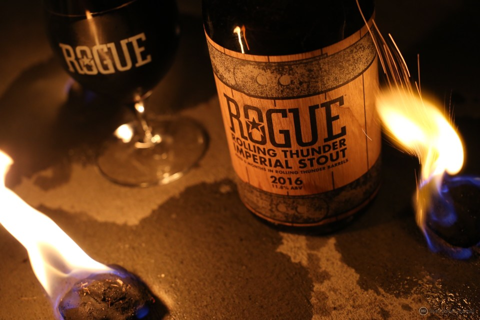 Rogue Rolling Thunder bottle