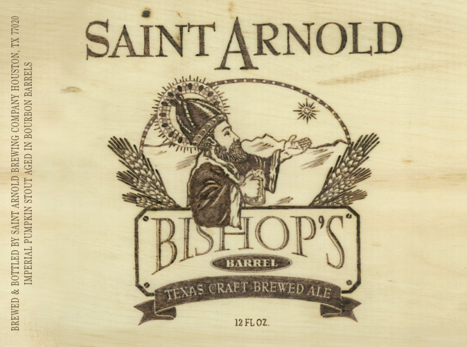 Saint Arnold Bishop's Barrel 17