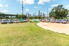 Saint Arnold Brewing Company - Art Car Fleet - Houstonm, TX 072015