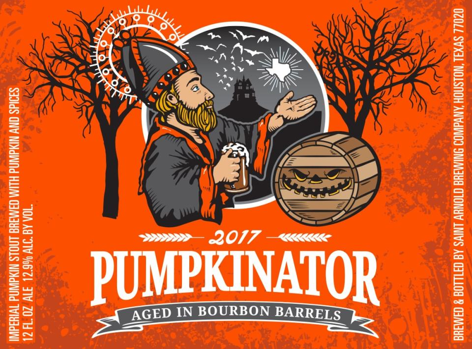 Saint Arnold Bourbon Pumpkinator