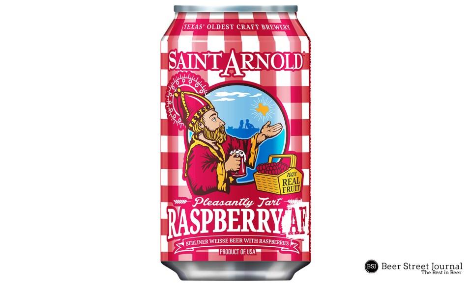 Saint Arnold Raspberry AF can