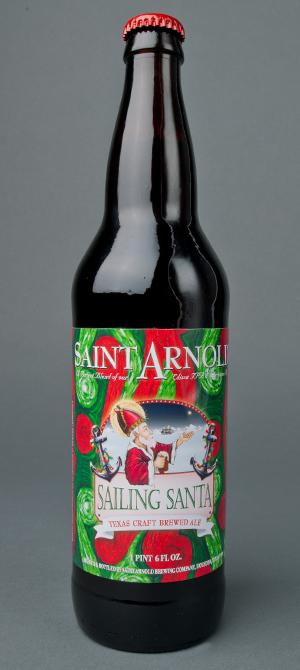 Saint Arnold Sailing Santa