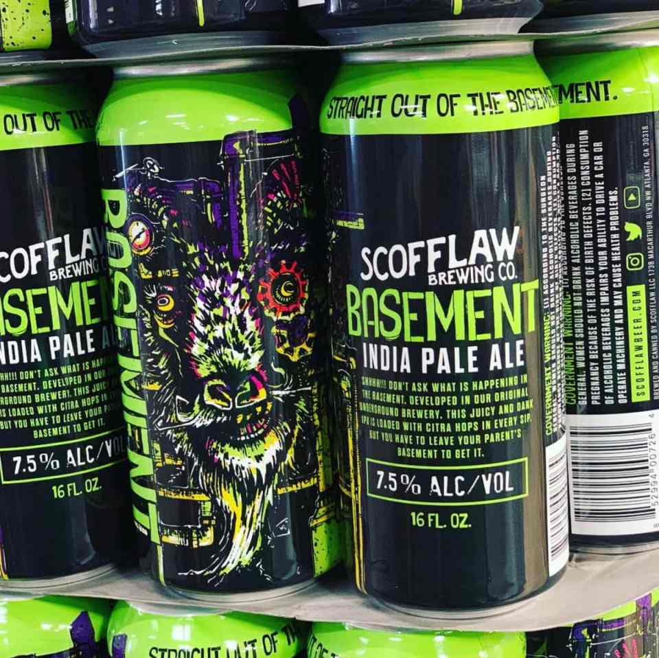 Scofflaw Brewing Basement IPA 16oz