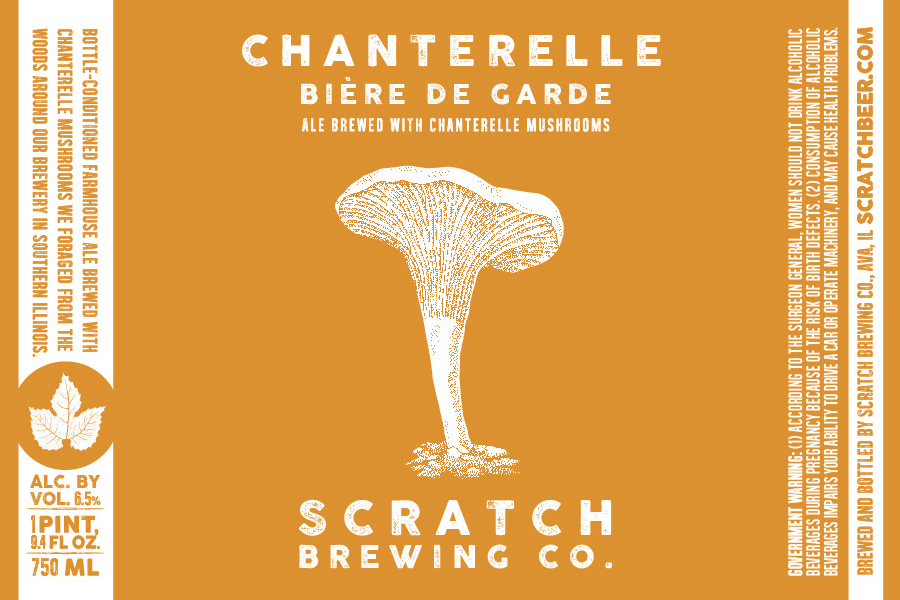 Scratch Brewing Chanterelle Biere De Garde