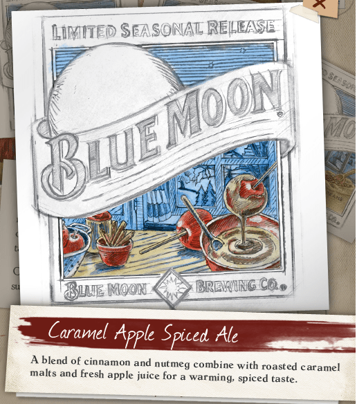 Blue Moon Caramel Apple Spice