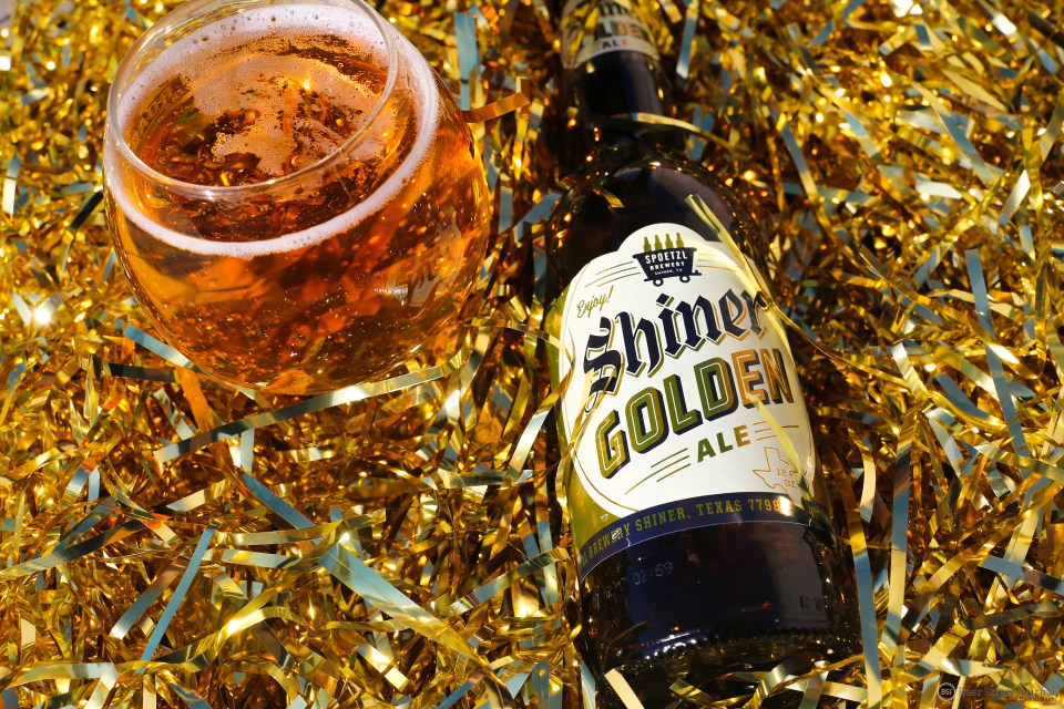 Shiner Golden Ale bottle