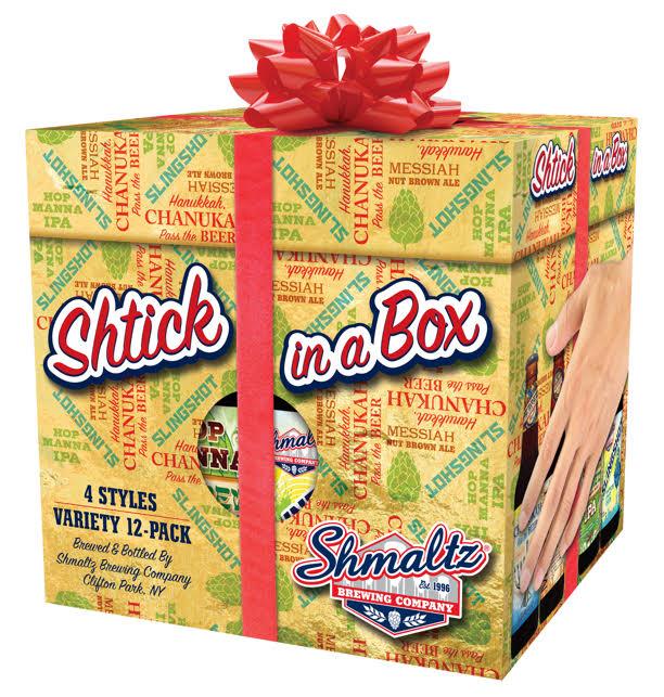 Shmaltz Shtick in a Box