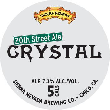 Sierra Nevada 20th Street Ale Crystal