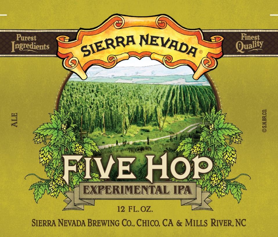 Sierra Nevada Five Hop Experimental IPA