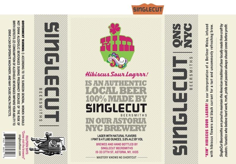 Singlecut Beersmiths Kim Hibiscus Sour Lagrrr
