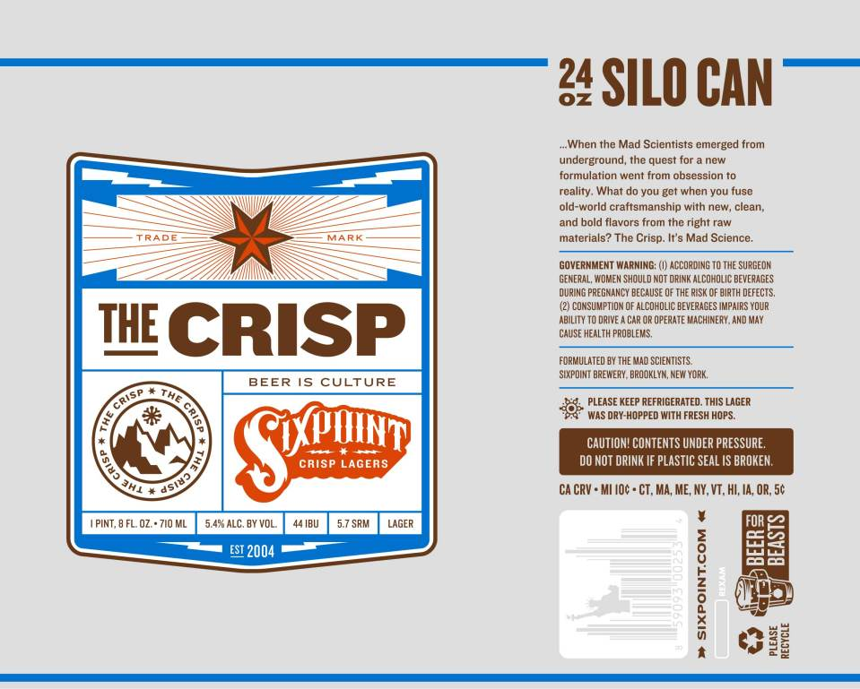 Sixpoint The Crisp 24 oz