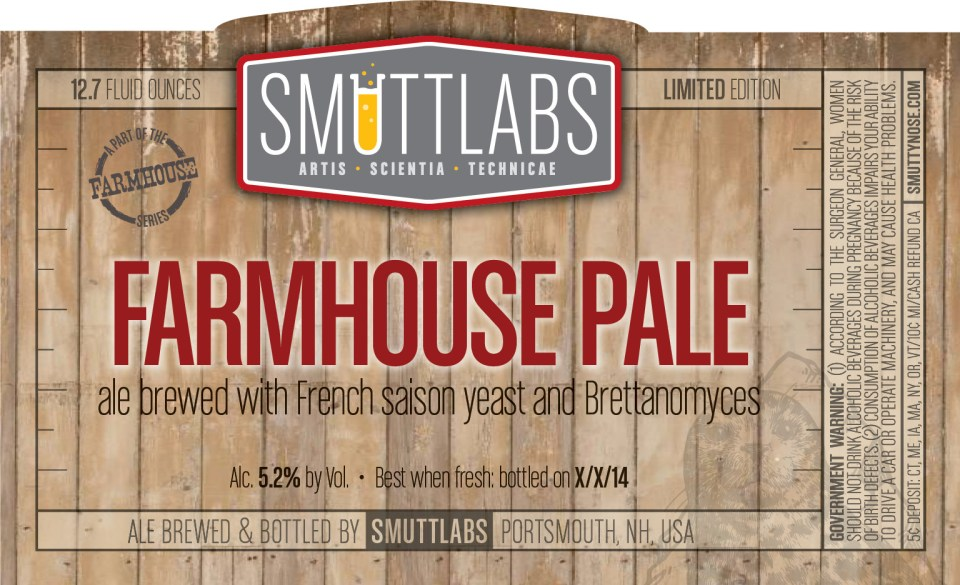 Smuttynose Smutlabs Farmhouse Ale