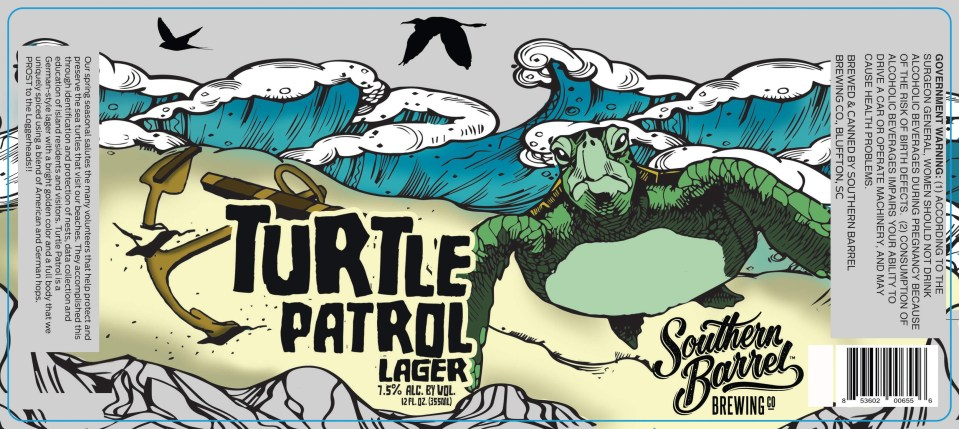 Southern Barrel Brewing Turtle Patrol