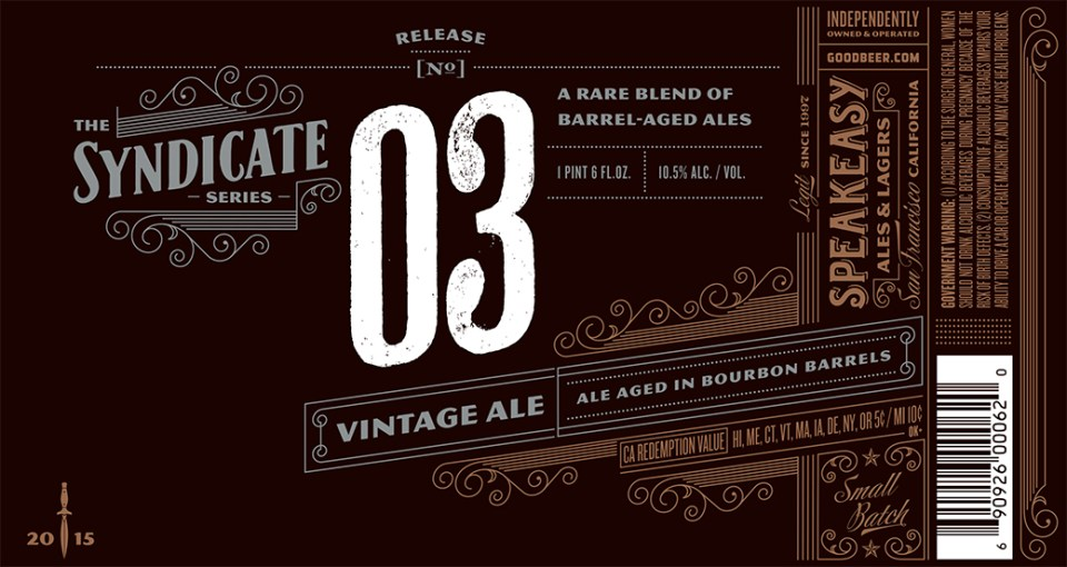 Speakeasy Syndicate 03 Vintage Ale