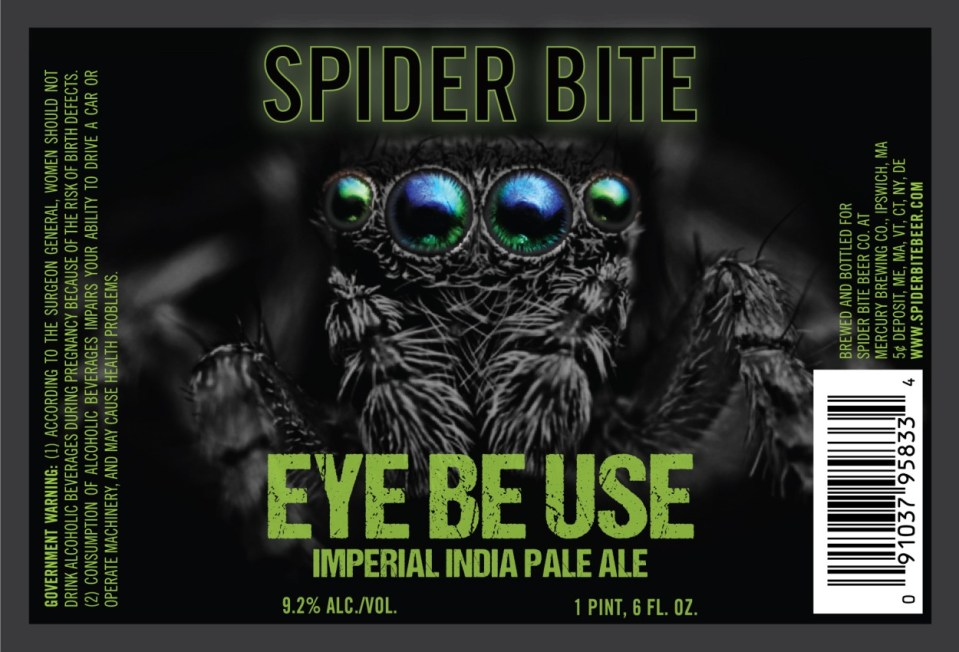 Spider Bite Beer Co. Eye Be Use Imperial IPA