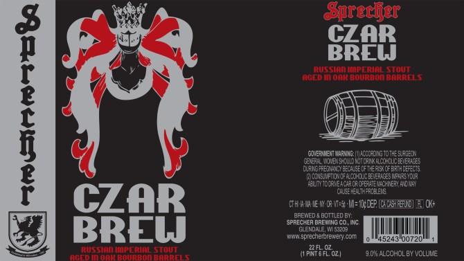 Sprecher Czar Brew