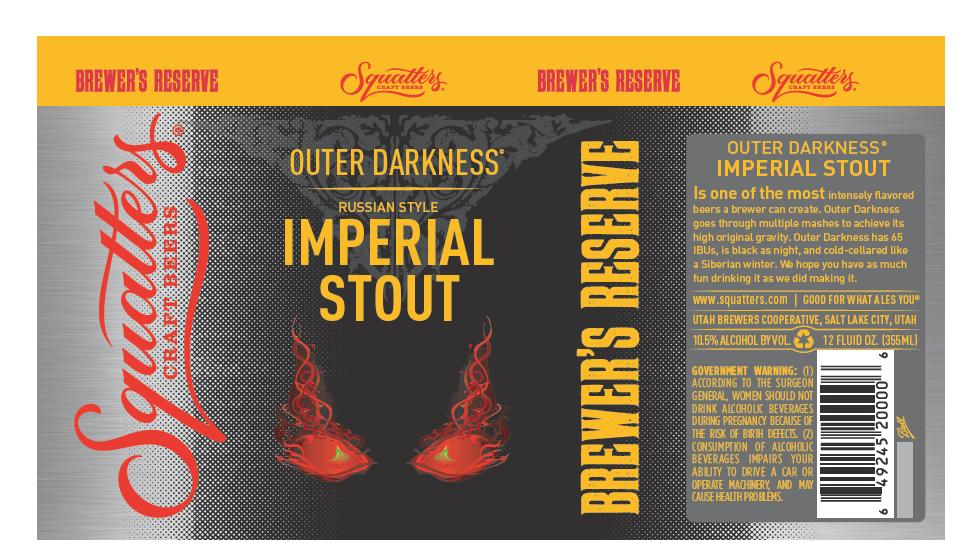 Squatters Outer Darkness Imperial Stout