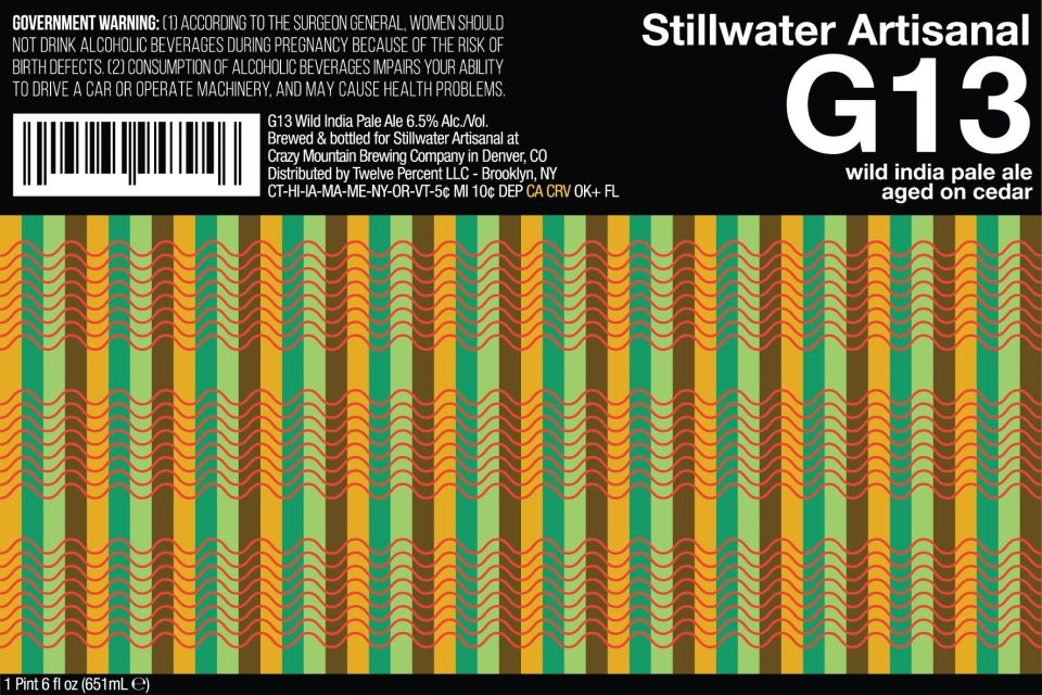 Stillwater G13 Wild India Pale Ale