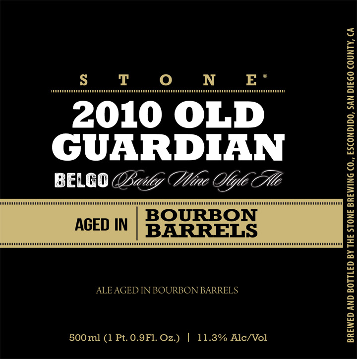 Stone Quingenti Belgo Barleywine Bourbon Red Wine Editions Beer