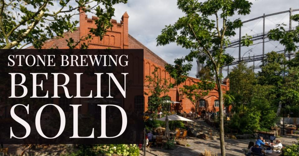 Stone Brewing Berlin Sold