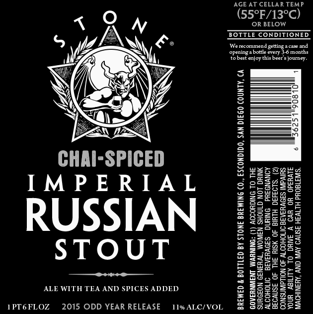 Stone Chai-Spiced Imperial Russian Stout