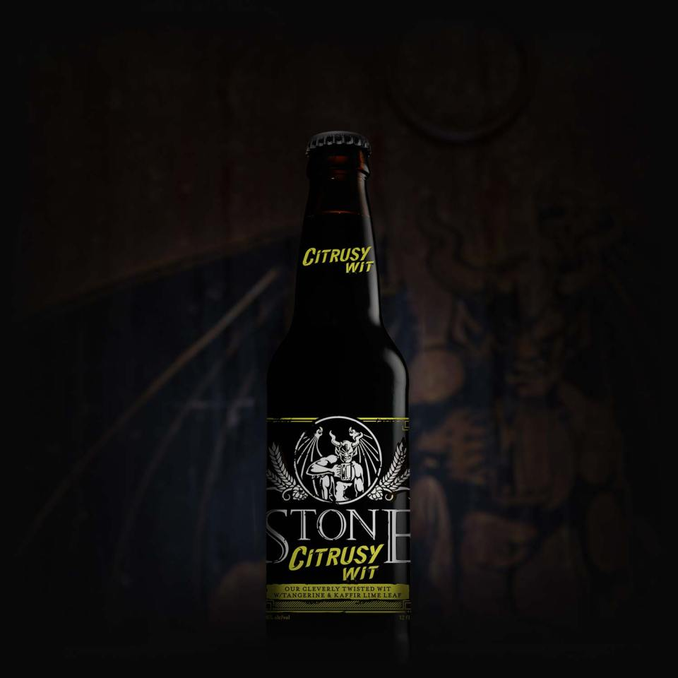 Stone Citrusy Wit