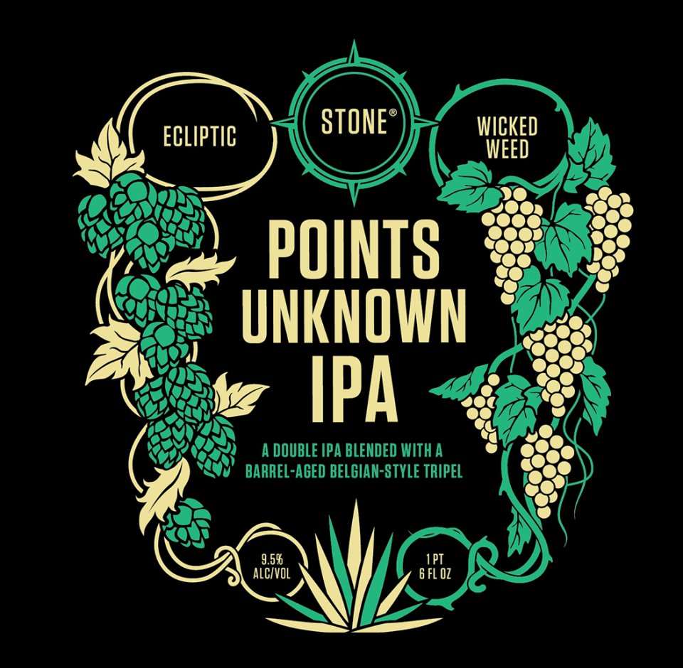 Stone Points Unknown IPA