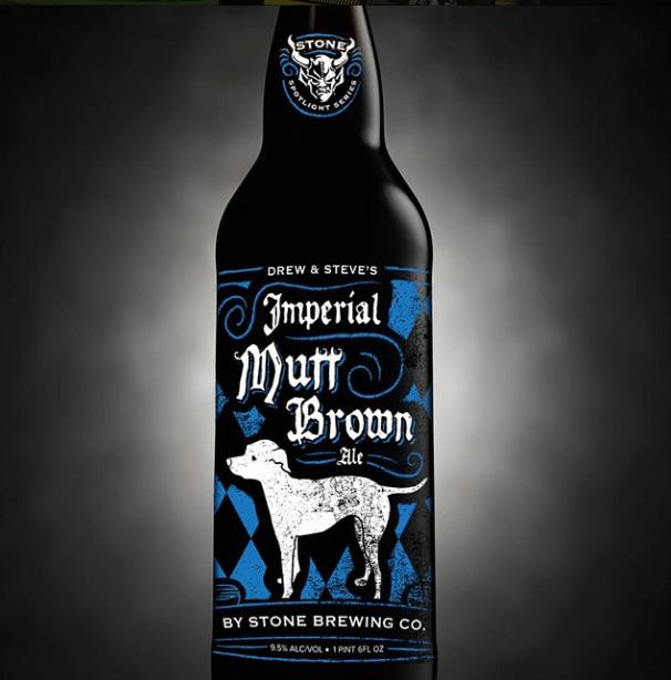 Stone Steve Via & Drew Neldon's Imperial Mutt Brown Ale