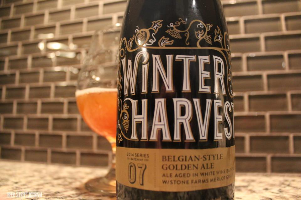 Stone Winter Harvest bottle