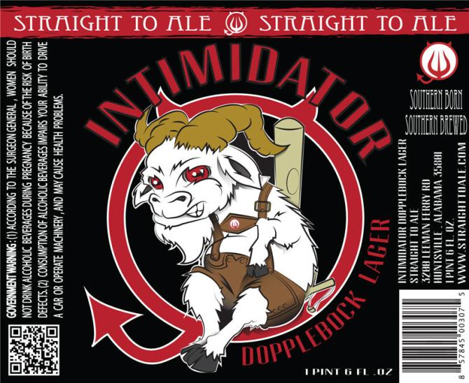 Straight To Ale Intimidator Dopplebock Lager