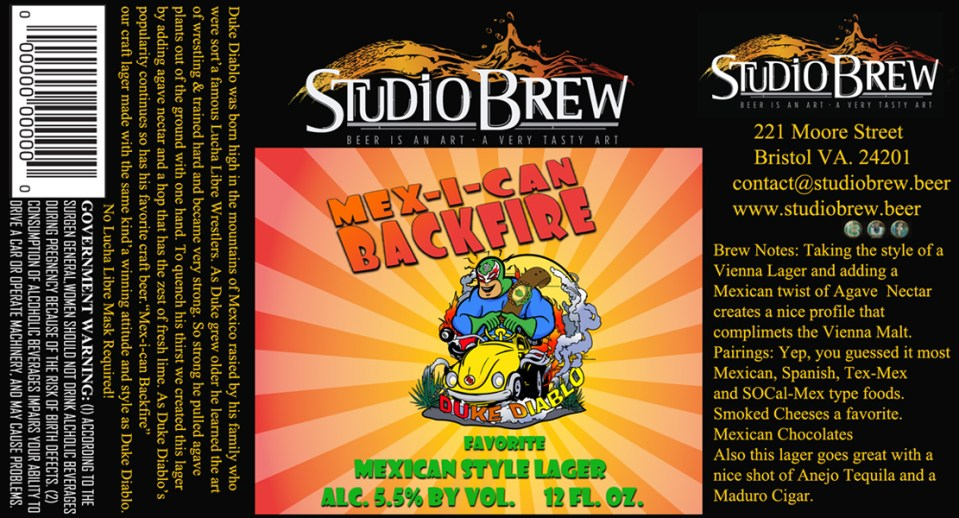 Studio Brew Mex-i-Can Backfire
