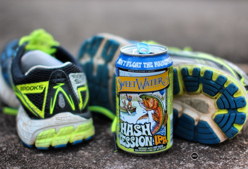 SweetWater Hash Session IPA can